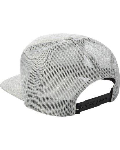 2 CENTERS TRUCKER HAT Grey AVYHA00143 RVCA