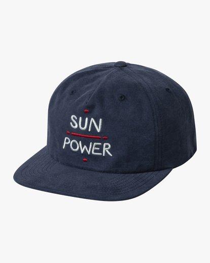 0 SUN POWER SNAPBACK HAT Blue AVYHA00156 RVCA