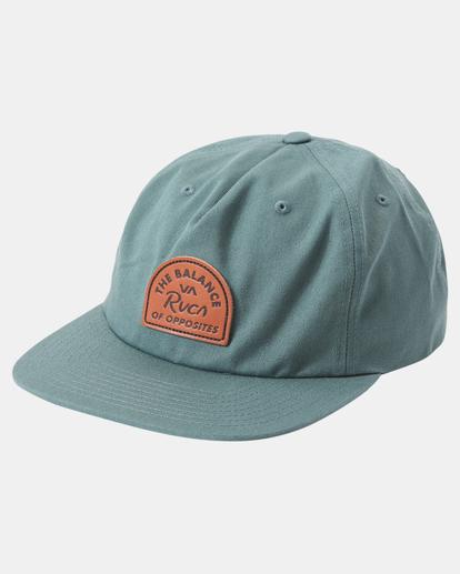 2 MAIN SNAPBACK HAT Green AVYHA00184 RVCA