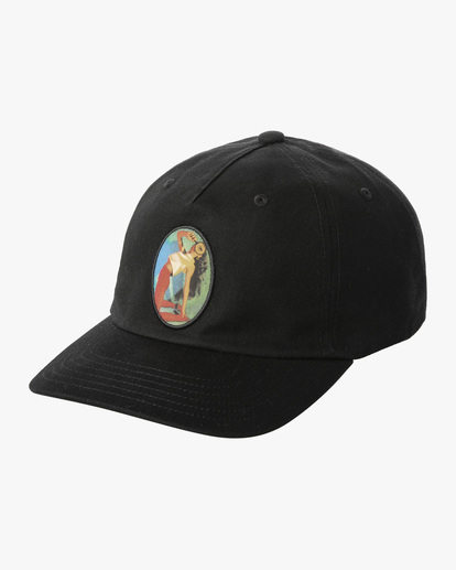 0 Dana Trippe | Trippy Dana Claspback Hat Black AVYHA00193 RVCA