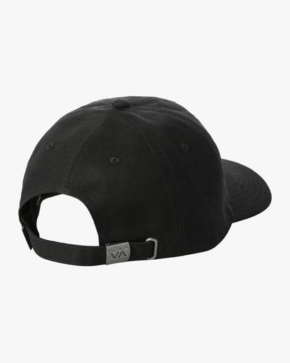1 Dana Trippe | Trippy Dana Claspback Hat Black AVYHA00193 RVCA