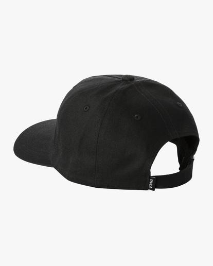 2 Dana Trippe | Trippy Dana Claspback Hat Black AVYHA00193 RVCA