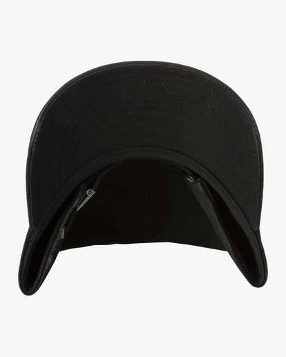 3 Dana Trippe | Trippy Dana Claspback Hat Black AVYHA00193 RVCA