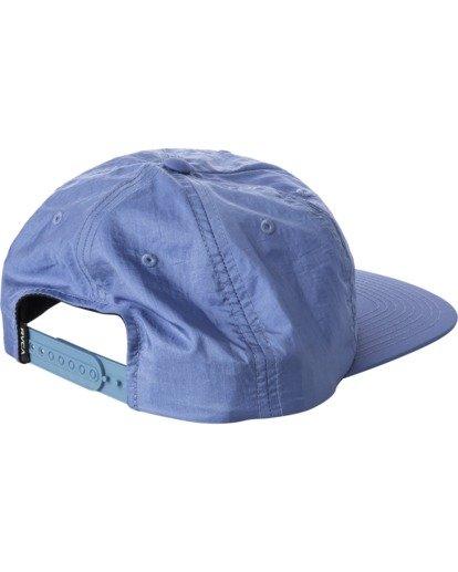 1 Pascifist Snapback Hat Blue AVYHA00195 RVCA