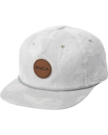 0 Hastings Claspback Hat Grey AVYHA00197 RVCA