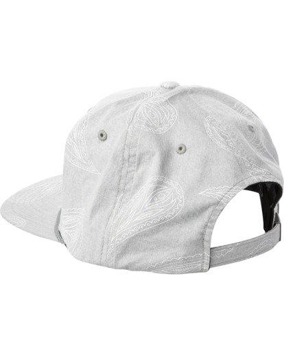 2 Hastings Claspback Hat Grey AVYHA00197 RVCA