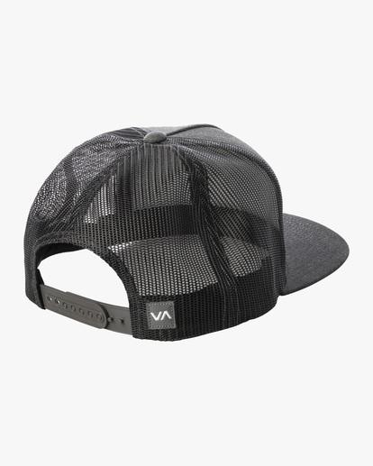 1 Badge Trucker Hat Grey AVYHA00202 RVCA