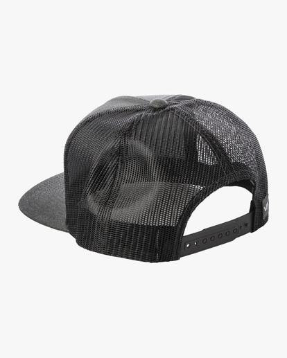 2 Badge Trucker Hat Grey AVYHA00202 RVCA