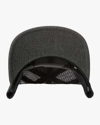 3 Badge Trucker Hat Grey AVYHA00202 RVCA