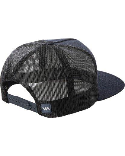 1 Badge Trucker Hat Blue AVYHA00202 RVCA