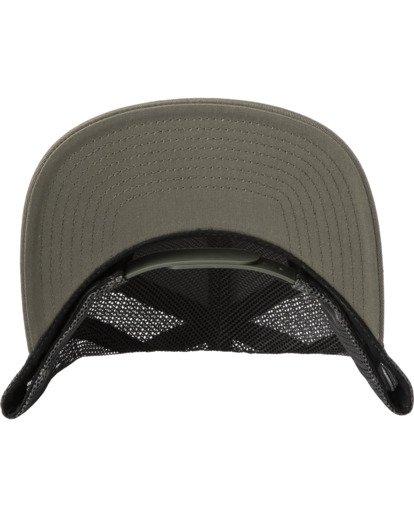 3 Stallion Trucker Hat Green AVYHA00203 RVCA