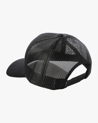 2 Ben Horton | Dead Fish Trucker II Hat Black AVYHA00205 RVCA