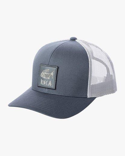 0 Ben Horton | Dead Fish Trucker II Hat Grey AVYHA00205 RVCA