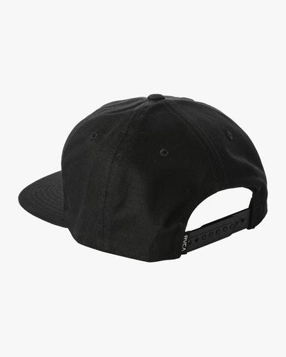 2 Espo | RVCA x Espo Snapback Hat Black AVYHA00216 RVCA