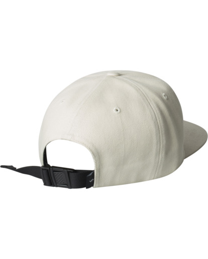 1 Pennant Claspback Hat White AVYHA00221 RVCA