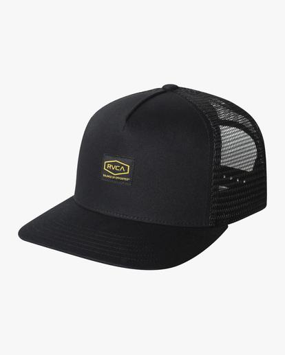 0 Day Shift Trucker Hat Black AVYHA00232 RVCA