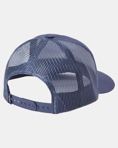 1 Day Shift Trucker Hat Blue AVYHA00232 RVCA
