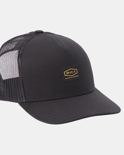 4 Day Shift Trucker Hat Black AVYHA00232 RVCA