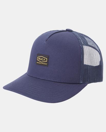 2 Day Shift Trucker Hat Blue AVYHA00232 RVCA