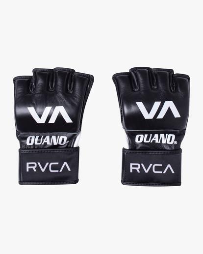 1 RVCA OUANO MMA GLOVES Black AVYHN00104 RVCA