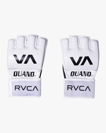 1 RVCA OUANO MMA GLOVES White AVYHN00104 RVCA