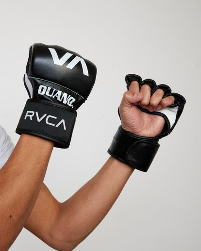 0 RVCA OUANO MMA GLOVES Black AVYHN00104 RVCA
