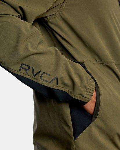 6 YOGGER TRACK JACKET II Green AVYJK00123 RVCA