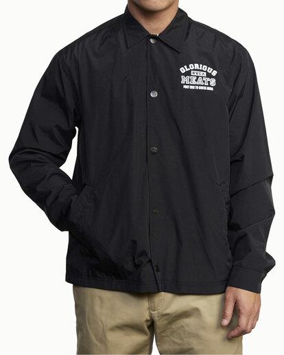 0 Matty Matheson   Matty Coaches Jacket Orange AVYJK00138 RVCA