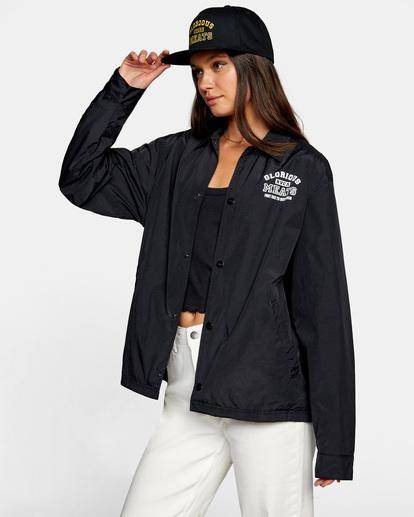 3 Matty Matheson   Matty Coaches Jacket Orange AVYJK00138 RVCA