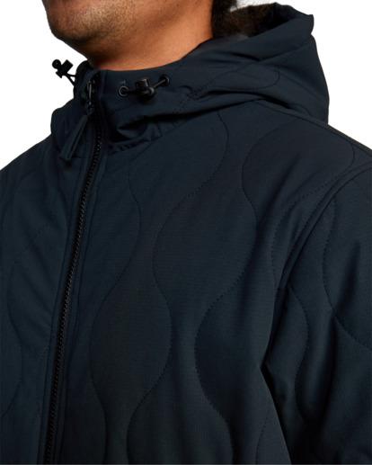 3 Yari Packable Jacket Black AVYJK00144 RVCA
