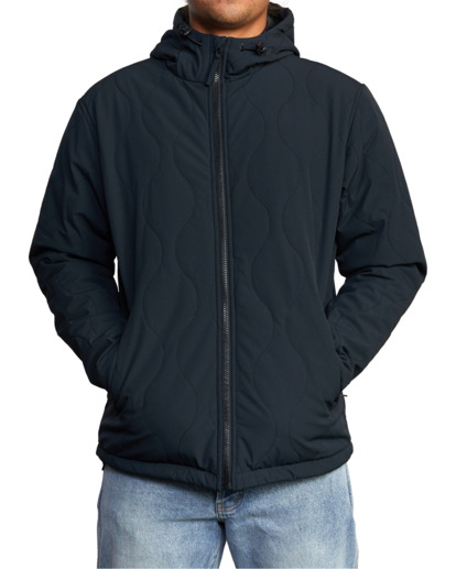 1 Yari Packable Jacket Black AVYJK00144 RVCA