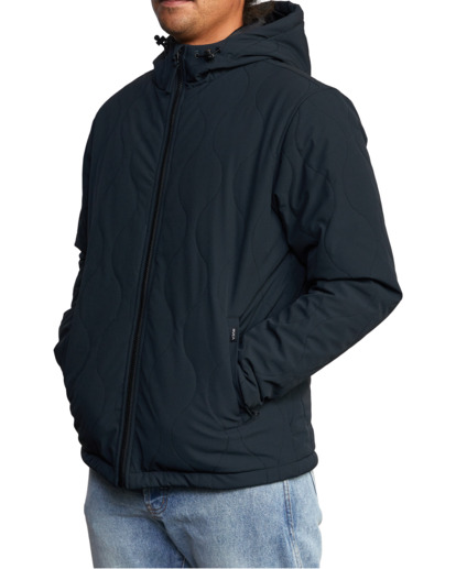 4 Yari Packable Jacket Black AVYJK00144 RVCA