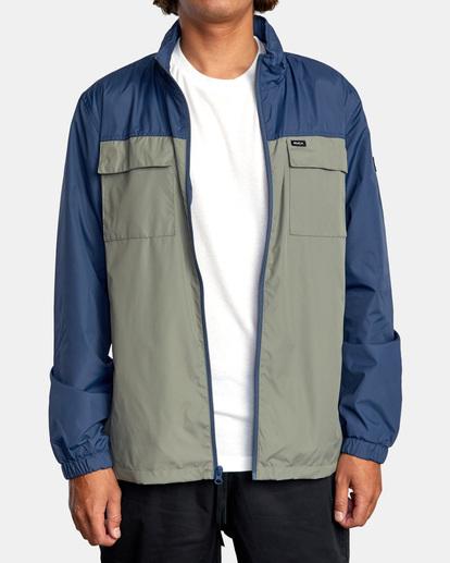 2 Baybreaker 2 Jacket Blue AVYJK00146 RVCA