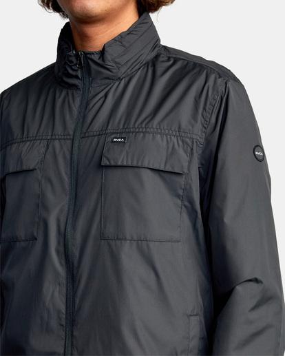 7 Baybreaker 2 Jacket Orange AVYJK00146 RVCA