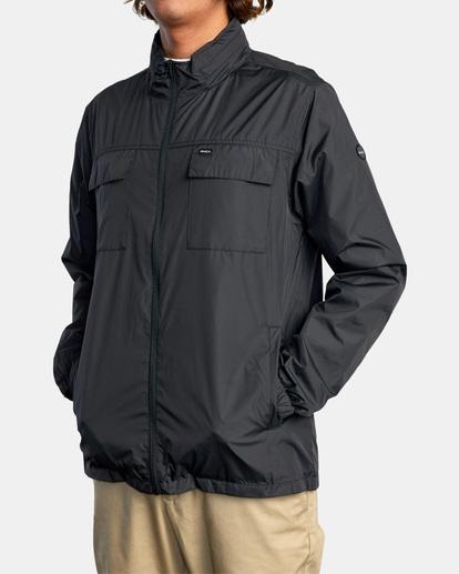 3 Baybreaker 2 Jacket Orange AVYJK00146 RVCA
