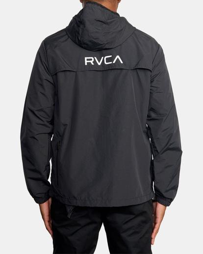 1 Outsider Packable Anorak Jacket Black AVYJK00148 RVCA