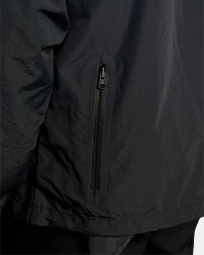 12 Outsider Packable Anorak Jacket Black AVYJK00148 RVCA
