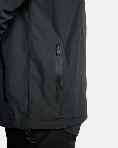 9 Outsider Packable Anorak Jacket Black AVYJK00148 RVCA