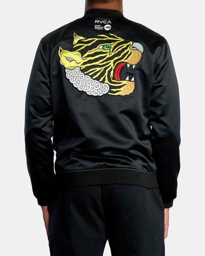1 Matt Leines   Leines Souvenir Jacket Black AVYJK00151 RVCA