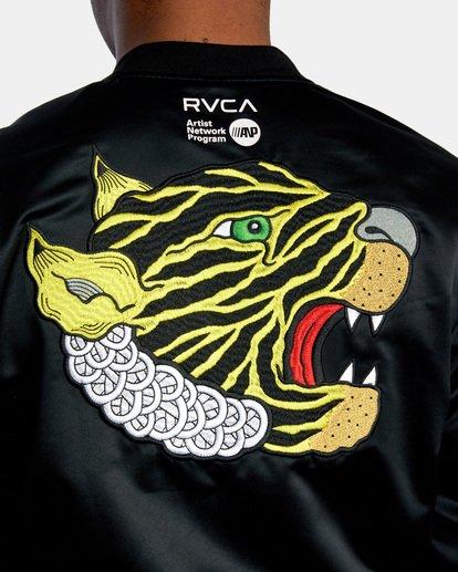 5 Matt Leines   Leines Souvenir Jacket Black AVYJK00151 RVCA