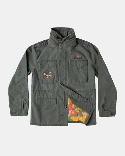 2 Melissa Grisancich   Mel G M65 Military Jacket  AVYJK00152 RVCA