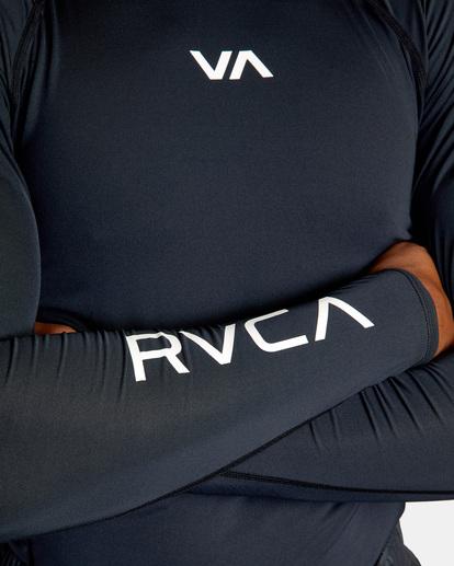 5 SPORT LONG SLEEVE RASHGUARD Black AVYKT00117 RVCA