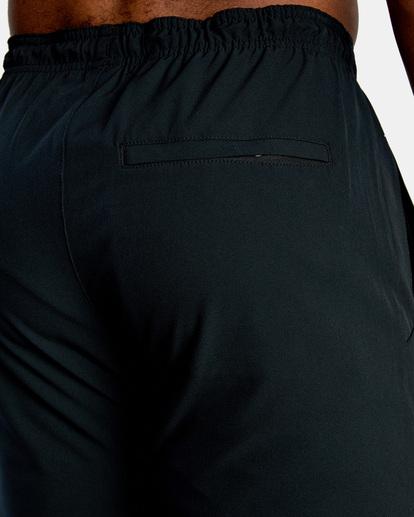 11 YOGGER STRETCH TRACK PANT Black AVYNP00109 RVCA