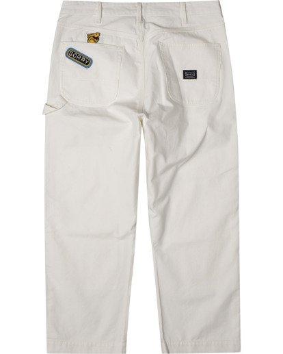 1 Evan Mock   Chainmail Pants White AVYNP00111 RVCA