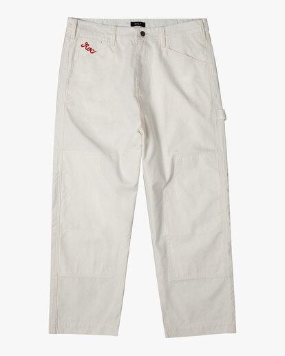 0 Evan Mock   Chainmail Pants White AVYNP00111 RVCA