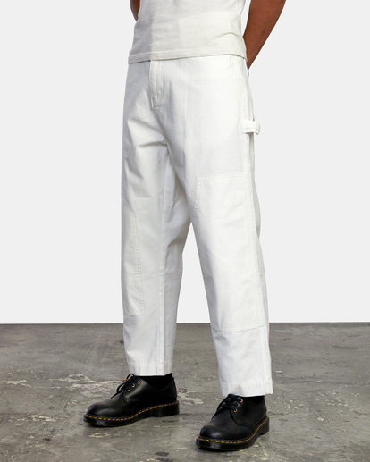 4 Evan Mock   Chainmail Pants White AVYNP00111 RVCA