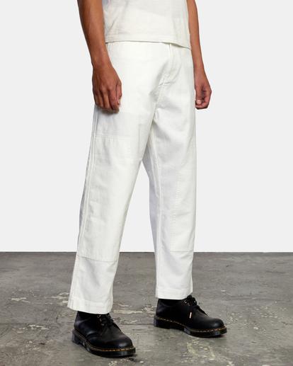 5 Evan Mock   Chainmail Pants White AVYNP00111 RVCA