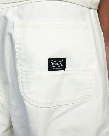 6 Evan Mock   Chainmail Pants White AVYNP00111 RVCA