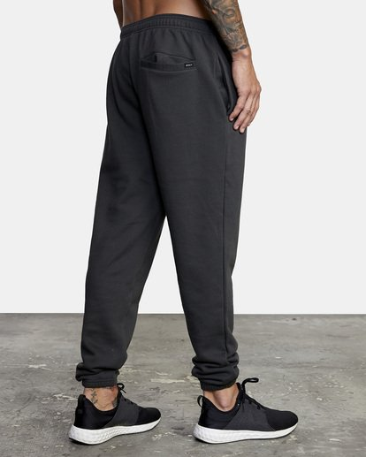 5 Heavyweight Sweatpant Black AVYNP00113 RVCA