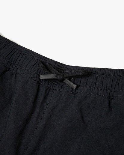 8 BEDWIN IPFU STRETCH TRACK PANT Black AVYNP00114 RVCA